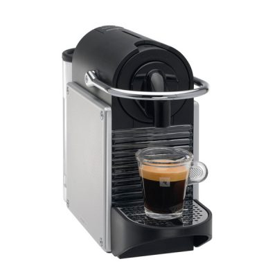 MACHINE NESPRESSO EXPRESSO M110 AUTOMATIQUE PIXIE GRIS METAL
