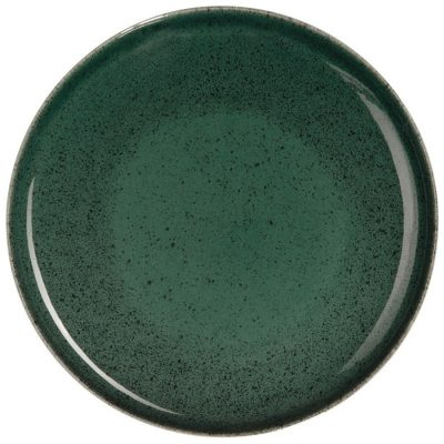 Service vaisselle Saison Algo vert, ALGO assiette à dessert D 21 cm