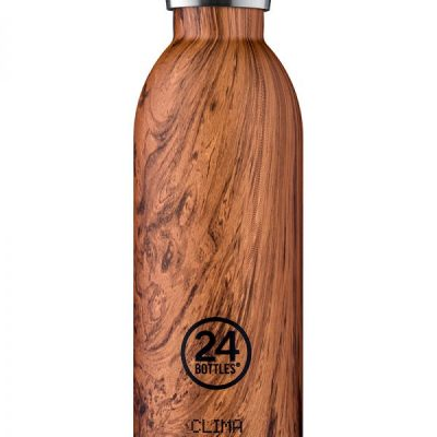 THERMO BOUTEILLE 24 BOTTLES CLIMA 500ML SEQUOIA WOOD