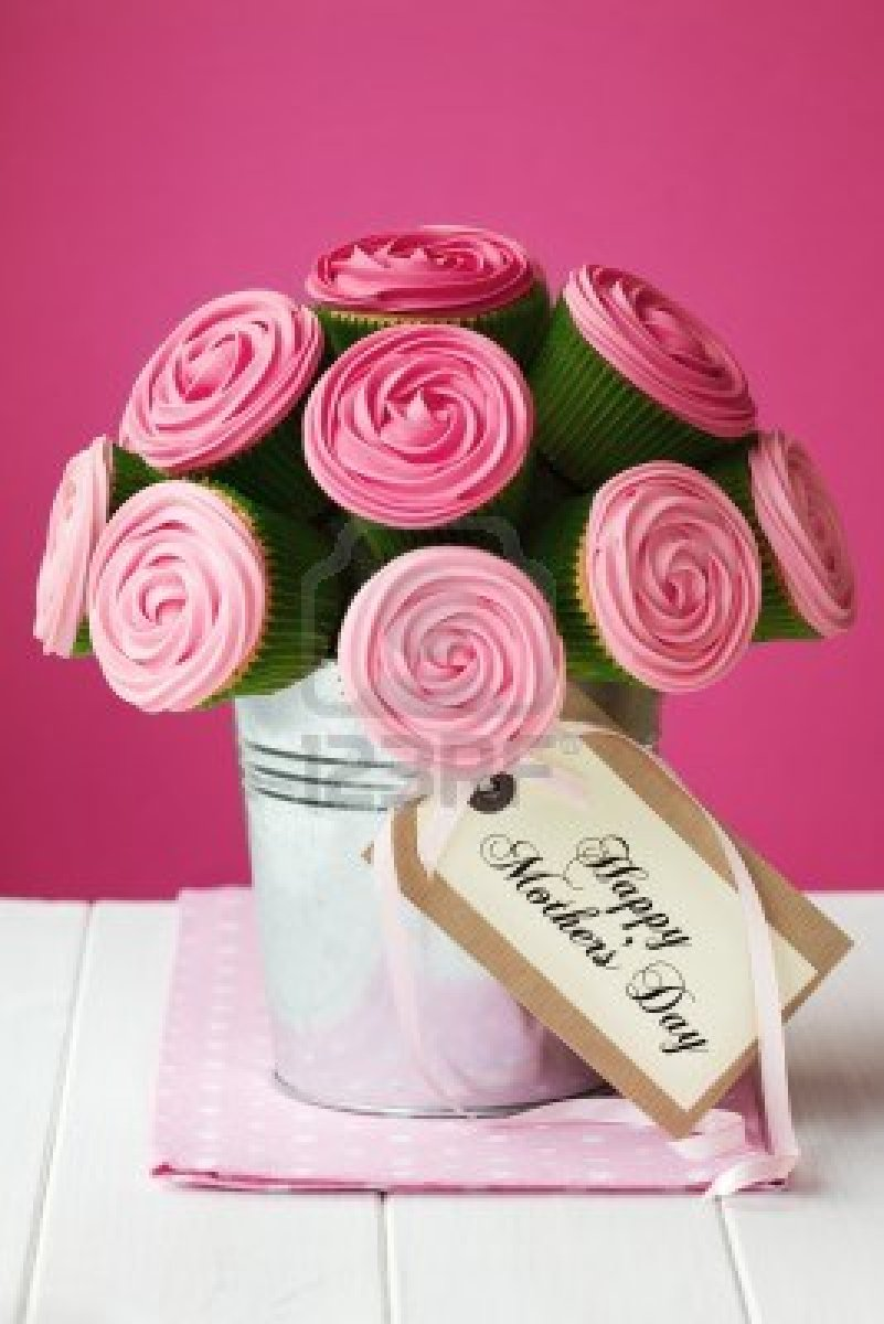 Bouquet de cupcakes happy mothers day