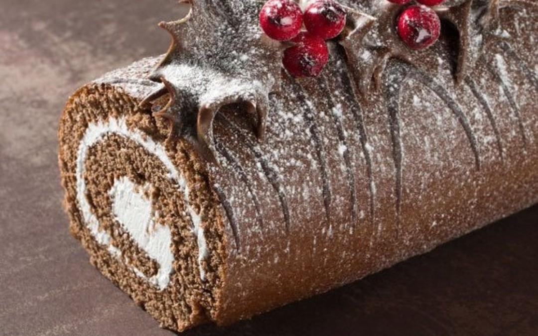 Recette : Bûche de Noël au chocolat