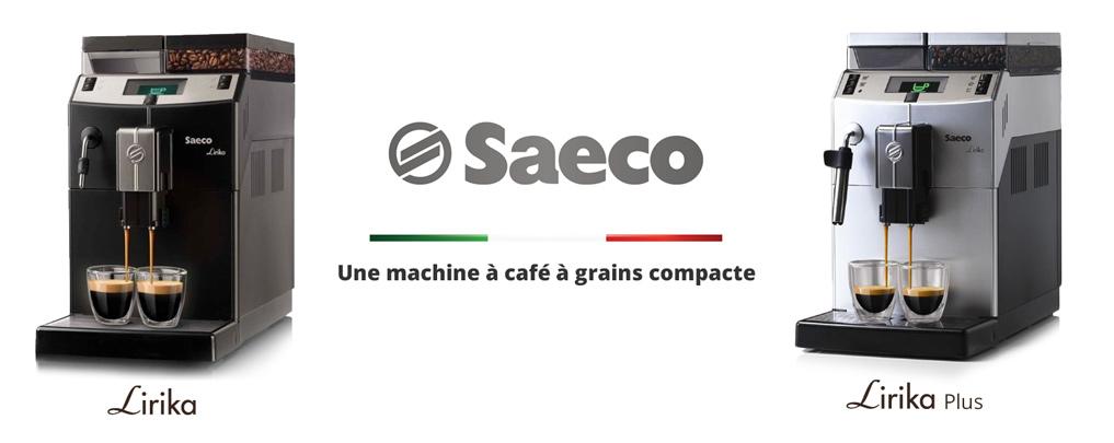 Lirika de Saeco, une machine à café à grains compacte