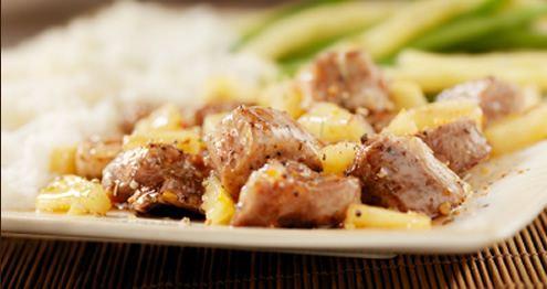 Recette: Wok de porc au miel et gingembre