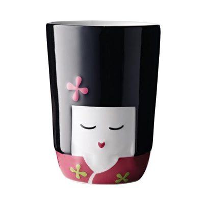 TASSE DOUBLE-PAROI FOLKLORE 21CL KOMACHI JAPON