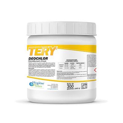 DEOCHLORE DESINFECTANT LEGUMES (X300 PASTILLES)