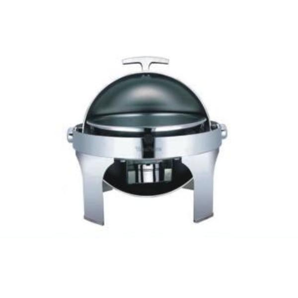 CHAFING DISH ROND ROLL TOP YFL03-1 + RESISTANCE