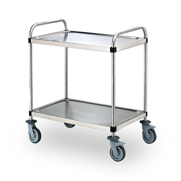 CHARIOT 2 PLATEAUX 900X550MM POLYAMIDE