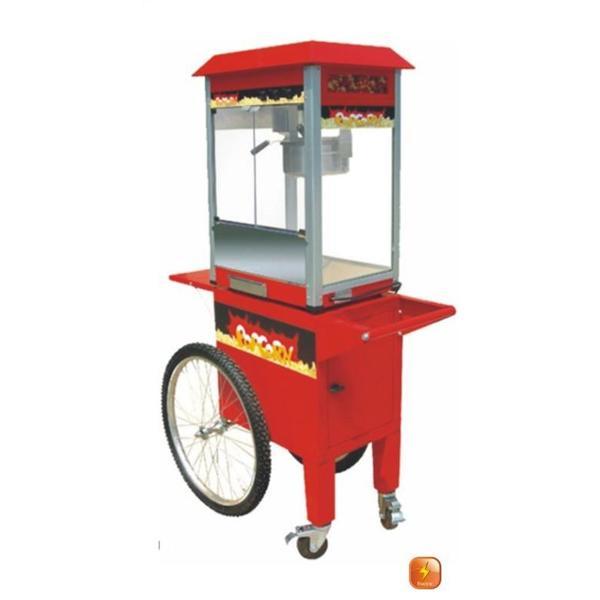 CHARIOT POUR POSER MACHINE A POP CORN EB-08