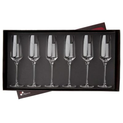 COFFRET 6 FLUTES 19CL MUSE