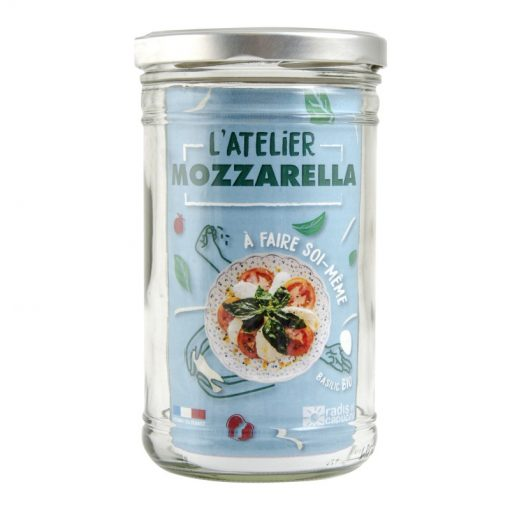 COFFRET BOCAL 1L DIY FROMAGE MOZZARELA AB FR-BIO-01