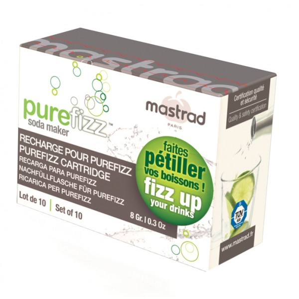 PUREFIZZ CARTOUCHE DE CO2 (LOT DE 20)