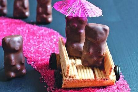 Recette: 12 petits oursons en chocolat à la guimauve