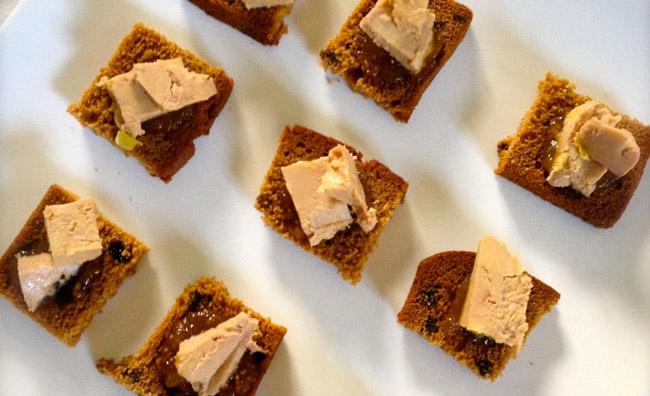 Recette: Toast de pain d'épices au foie gras.