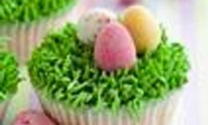 Recette: Cupcake au chocolat au lait pour Pâques