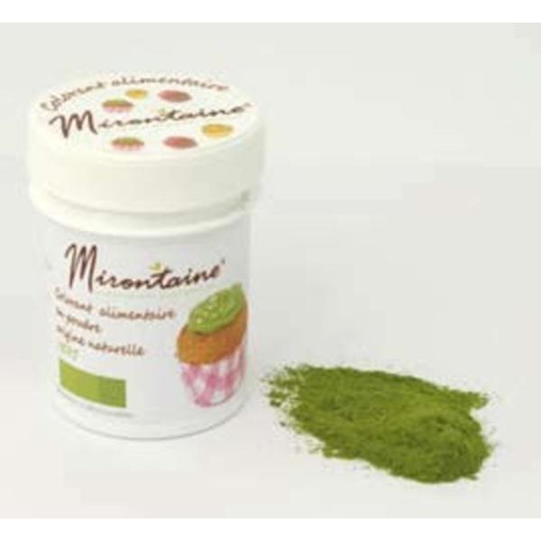 colorant alimentaire bio poudre vert 10g - Colorant Alimentaire Bio