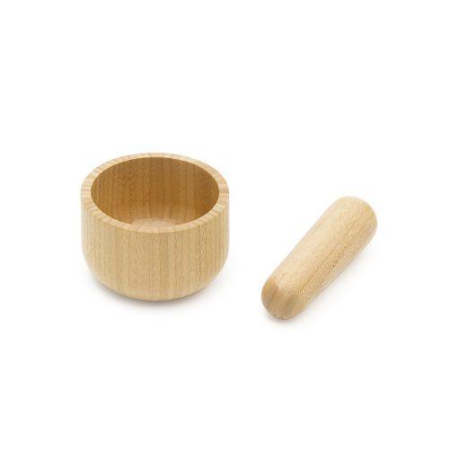 Set pilon & mortier en bambou
