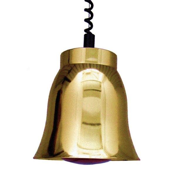 LAMPE INFRA-ROUGE PRESTIGE CUIVREE JAUNE