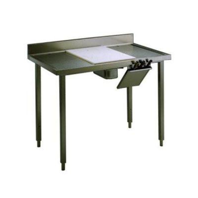 TABLE DE DECOUPE VIANDE TLC1210P AVEC DOSSERET