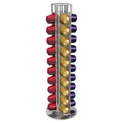 Porte capsules VISTA 40 rotatif pour Nespresso