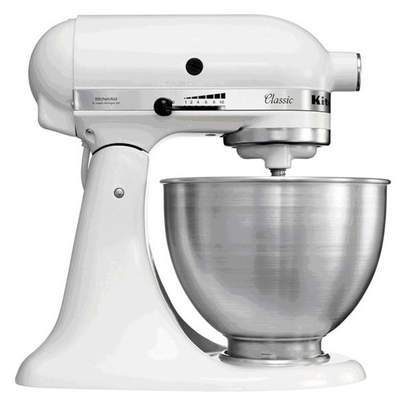 BATTEUR MELANGEUR KITCHEN AID K45 BLANC 4