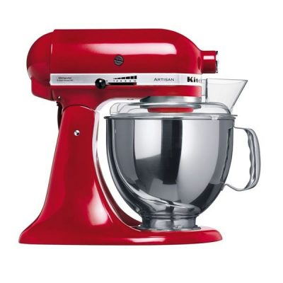 BATTEUR MELANGEUR KITCHEN AID K5S ROUGE
