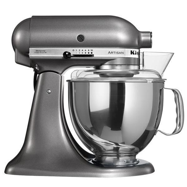 BATTEUR MELANGEUR KITCHEN AID K5S GRIS METALLISE